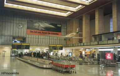 Tempelhof Airport main hall